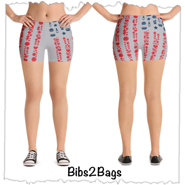 July 4th Shorts From Bibs2Bags