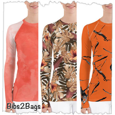 The Holiday & Winter Collection - Women's Rash Guard From Bibs2Bags